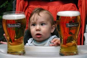 Детский алкоголизм: причины и последствия